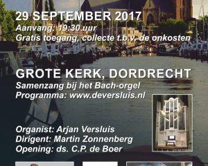 Grote kerk Dordrecht psalmzangavond