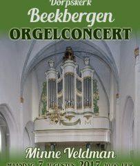 Beekbergen dorpskerk orgelconcert minne