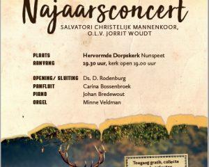 Najaarsconcert mannenkoor Salvatori Nunspeet