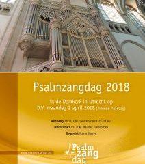 Domkerk Utrecht psalmzangdag 2018