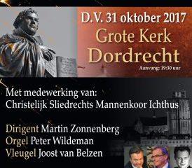 grote kerk dordrecht reformatieconcert