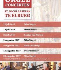 Elburg orgelconcert met Pieter Heykoop