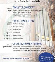 Nijkerk orgelconcert in de grote kerk