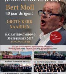 Bert Moll Jubileumconcert 40 jaar dirigent