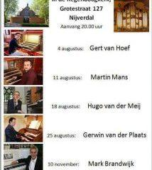 nijverdal orgelconcert