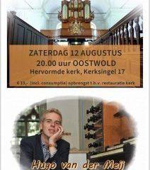 Orgelconcert Oosterwold Hugo van der Meij