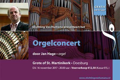 Doesburg orgelconcert Jan Hage