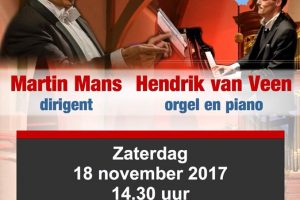 Najaarsconcert groot mannenkoor noord-nederland
