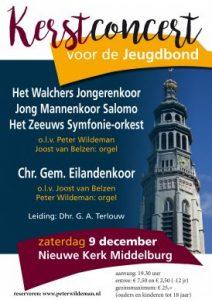 Nieuwe kerk van Middelburg kerstconcert