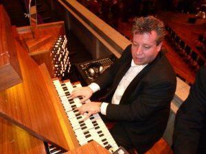 johan den hoedt 30 jaar organist in de Wijnstok