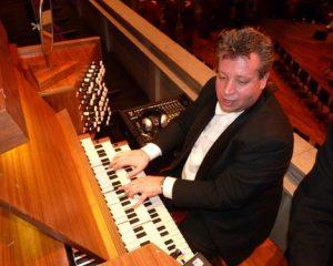 Johan den Hoedt en Edwin Vooijs in concert in 'de Wijnstok' te Dubbeldam