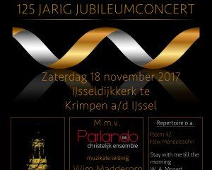 jubileumconcert 125 jaar zangvereniging esperance
