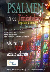 psalmen zingen trinitatiskapel dordrecht