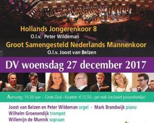 Eindejaarsconcert Hollands Jongerenkoor 2017