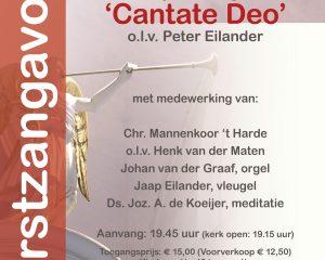 Sint-Joriskerk Amersfoort kerstconcert Cantate Deo