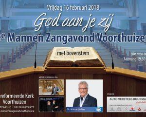 Gereformeerde kerk voorthuizen 3e mannenzangavond