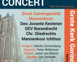 Gorinchem Groot Mannenkoor concert