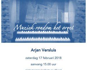 dubbeldam orgelconcert Arjan Versluis