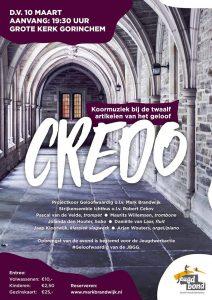 Gorinchem presentatieconcert cd Credo