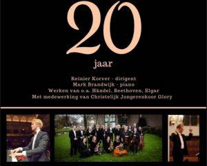 Jubileumconcert symfonisch ensemble negienot