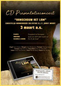 cd presentatieconcert paas cd christelijk mannenkoor salvatori