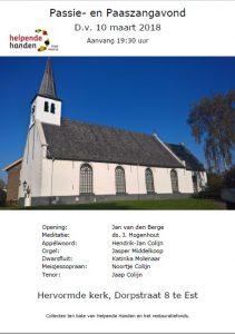 hervormde kerk Elst Paaszangavond