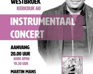 westbroek instrumentaal concert met Martin Mans