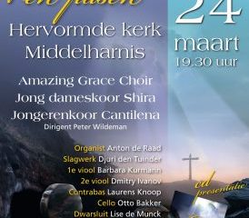 Amazing Grace Choir zingt in de Middelharnis