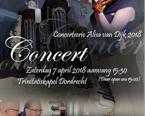 Trinitaskapel dordrecht en Alisa met Kleinkoor Concertino
