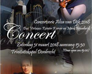 Trinitatiskapel van dordrecht concert Alisa van Dijk
