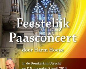 domkerk utrecht feestelijk paasconcert