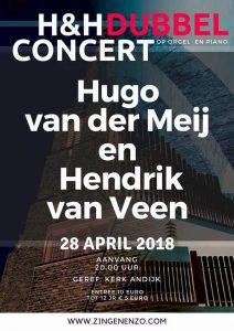 Andijk dubbelconcert Hugo en Hendrik