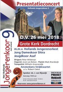 Hollands Jongerenkoor 9 presentatieconcert