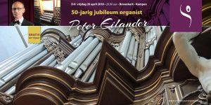 Jubileumconcert Peter Eilander in de Bovenkerk van Kampen