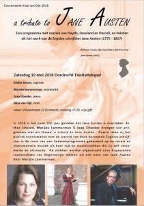 bijzonder concert met Alisa Trinitatiskapel Dordrecht