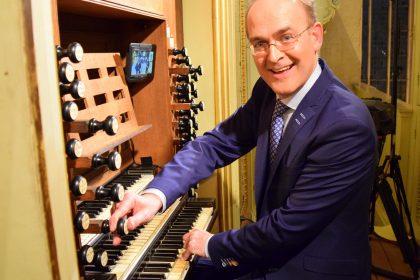 grote kerk van Hasselt orgelconcert Harm Hoeve