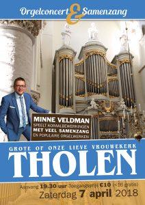 grote kerk van tholen orgelconcert minne