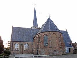 Dorpskerk van Ouderkerk aan de IJssel met Jan Peter Teeuw