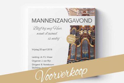 Voorverkoop cd Katwijkse mannenzang voorjaar 2018