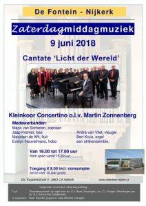 De Fontein Nijkerk concert met Kleinkoor Concertino