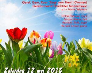 Gereformeerde kerk van ommen voorjaarsconcert