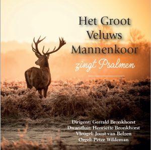Voorverkoop cd: Het Groot Veluws Mannenkoor zingt psalmen