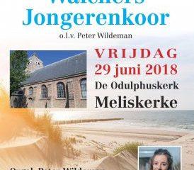 meliskerke zomerconcert Walchers Jongerenkoor