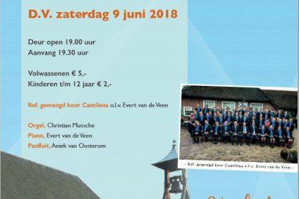 zomerklanken vanuit de hervormde kerk IJhorst