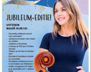 10-jarig jubileum Hollands Jongerenkoor met orkest
