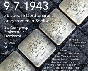 Dordrecht herdenkingsconcert Sobibor