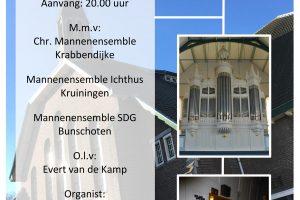 Hervormde kerk Krabbendijke benefietconcert