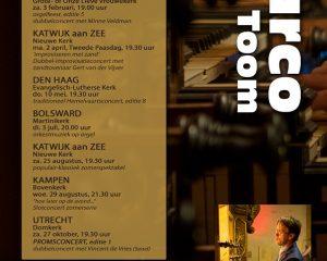 Martinikerk van Bolsward orgelconcert Marco den Toom