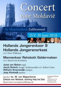Zaltbommel Sint Maartenskerk concert voor Moldavie
