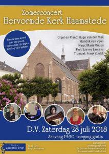 Zomerconcert Haamstede in de Hervormde kerk